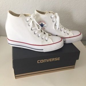 EUC Converse Lux Wedges, Perfect Condition w/Box